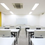 広瀬通【仙台協立第1ビル4階4-D貸会議室】20名様用 白を基調とした会議室 会議やセミナーに!