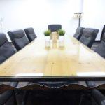 クッション性のあるソファで長時間の会議にも適しています!【仙台協立第1ビル】 2階: 2-7会議室